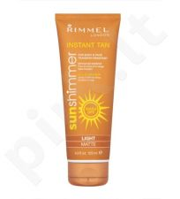 Rimmel London Sun Shimmer savaiminio įdegio priemonė, 125ml  - Light Shimmer