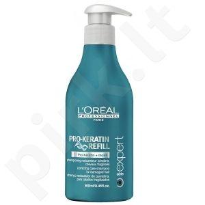 LOREAL PARIS PRO-KERATIN REFILL shampoo 500 ml