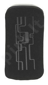 06 LINE universalus dėklas i9100 Telemax juodas