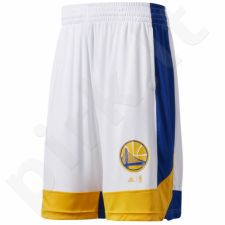 Šortai krepšiniui Adidas Summer Run Golden State Warriors M B45444