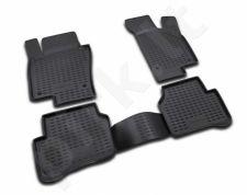 Guminiai kilimėliai 3D VW Passat CC 2009->, 4 pcs. /L65033