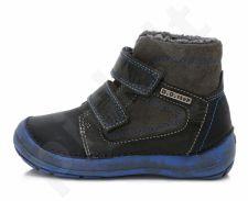 D.D. step juodi batai su pašiltinimu 31-36 d. 023802l