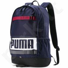 Kuprinė Puma Deck Backpack tamsiai mėlyna 074706 24