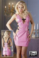 Vinyl Mini Dress L