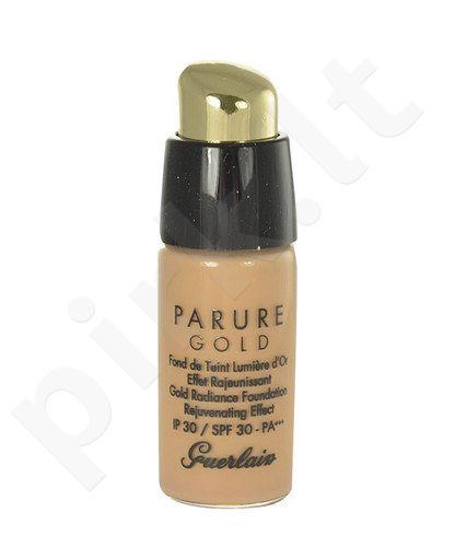Guerlain Parure Gold Gold Radiance kreminė pudra SPF30, kosmetika moterims, 15ml, (testeris), (02 Light Beige)