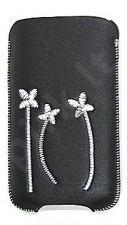 16-C baltas FLOWER universalus dėklas C2-02 Telemax juodas