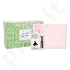 Guerlain La Petite Robe Noire Eau Fraiche, rinkinys tualetinis vanduo moterims, (EDT 50 ml + lūpdažis La Petite Robe Noire 011 Beige Lingere 2,8 g + kosmetika krepšys)
