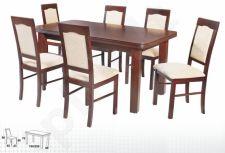 Stalas WENUS-P V + 6 kėdės NILO IV