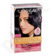 L´Oreal Paris Excellence Creme Hair Colour, kosmetika moterims, 1ks, (1 Black)