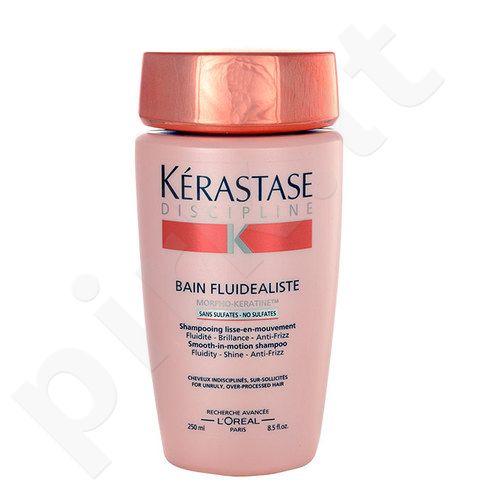 Kerastase Discipline Bain Fluidealiste No Sulfates šampūnas, kosmetika moterims, 250ml