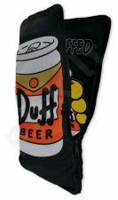 """Simpsonų pagalvėlė """"Duff beer"""" (su dvigubu paveiksliuku)"""