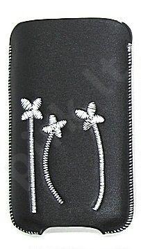 16-C baltas FLOWER universalus dėklas i9100 Telemax juodas