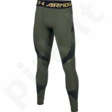 Sportinės kelnės kompresinės Under Armour HeatGear Armour Zone Compression Leggings M 1289579-330