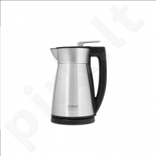 Caso VakO2 Standard kettle, Stainless steel, Stainless steel, 1800 W, 1.5 L, 360° rotational base