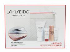 Shiseido LiftDynamic Cream, Bio-Performance, rinkinys dieninis kremas moterims, (kremas 50 ml + Cleansing Foam BENEFIANCE 30 ml + serumas ULTIMUNE 5 ml + serumas LiftDynamic 7 ml + oční péče LiftDynamic 3 ml + kosmetika krepšys)