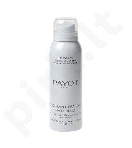 Payot dezodorantas Fraiche Naturelle purškiklis, kosmetika moterims, 125ml