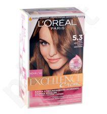 L´Oréal Paris Excellence Creme, plaukų dažai moterims, 192ml, (5,3 Natural Golden Brown)