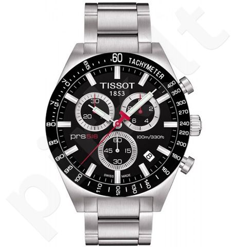 Laikrodis TISSOT PRS 516 kvarcinis T0444172105100