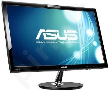 Monitorius Asus VK228H 21.5'', LED, Full HD, 2ms, DVI, HDMI, Web kamera, Juodas