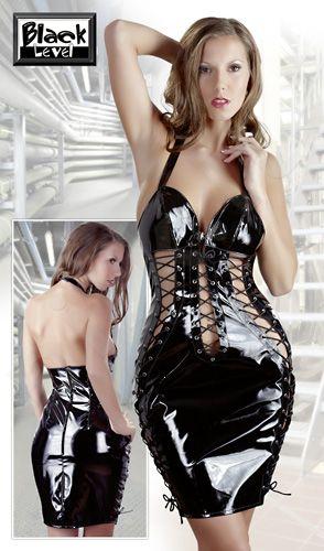 Vinyl Dress ( XL)