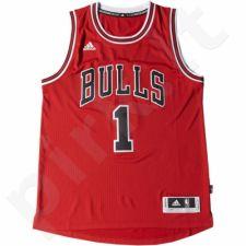 Marškinėliai krepšiniui Adidas Swingman Chicago Bulls Derrick Rose M M86192