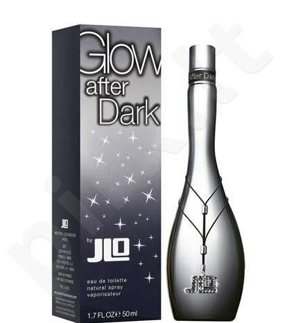 Jennifer Lopez Glow After Dark, tualetinis vanduo (EDT) moterims, 50 ml