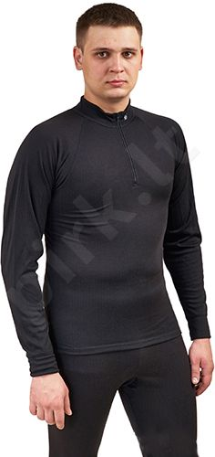 Termo marškinėliai 28209 02 S ilgomis rankovėmis su užtrauktuku