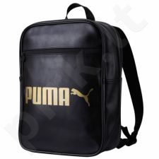 Kuprinė Puma Campus Black-Gold 07423901