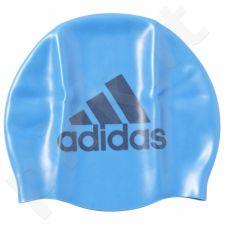 Maudymosi kepuraitė  Adidas Silicone Graphic Swim Cap AJ8653