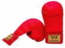 Karate pirštinės WKF S raudona