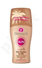 Dermacol Sun, Milk Spray SPF6, Sun kūno losjonas moterims, 200ml