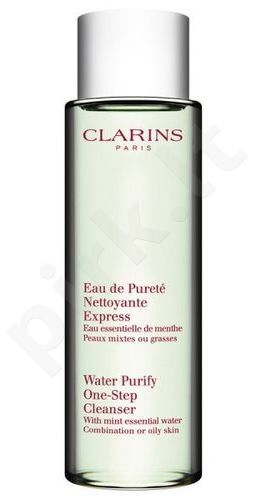 Clarins Water Purify One Step Cleanser, Cleansing Water moterims, 200ml