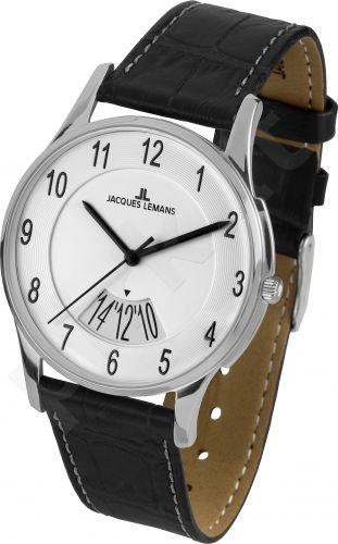 Vyriškas JACQUES LEMANS laikrodis 1-1746B