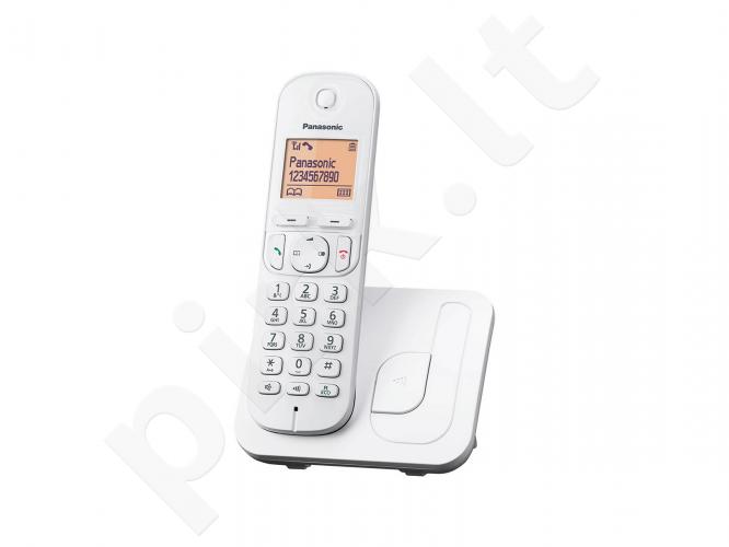 Telefonas bev. Panasonic KX-TGC210FXW