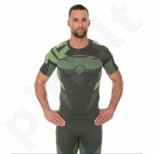 Marškinėliai termoaktyvūs Brubeck DRY M SS11970 žalio atspalvio
