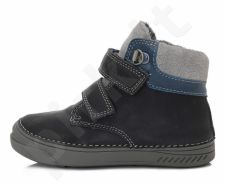 D.D. step tamsiai mėlyni batai su pašiltinimu 31-36 d. 040423bl