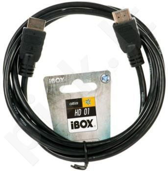 HDMI kabelis iBOX FullHD 1,8m v1.4