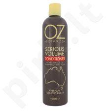 Xpel OZ Botanics Serious apimties plaukams susteikiantis kondicionierius, kosmetika moterims, 400ml