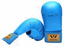 Karate pirštinės WKF M mėlyna