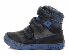 D.D. step tamsiai mėlyni batai su pašiltinimu 25-30 d. 040426bm