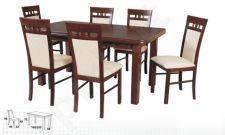 Stalas WENUS-P V + 6 kėdės MILANO