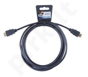 HDMI kabelis iBOX FullHD 3,0m v1.4