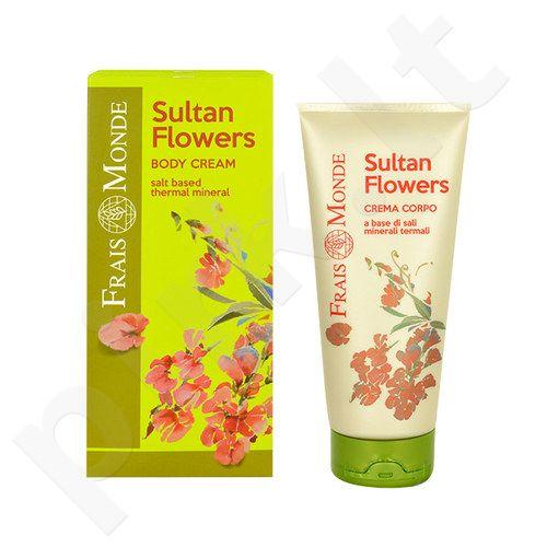 Frais Monde Sultan Flowers kūno kremas, kosmetika moterims, 200ml
