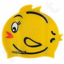 Maudymosi kepuraitė  Aqua-Speed silikoninė   ZOO Tweety Junior geltonas