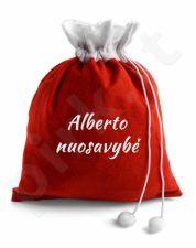 """Kalėdinis dovanų maišas """"Nuosavybė"""" su Jūsų pasirinktu vardu"""