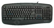 Žaidimų klaviatūra Gigabyte Force K3, Juoda