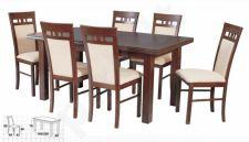 Stalas KENT I + 6 kėdės MILANO
