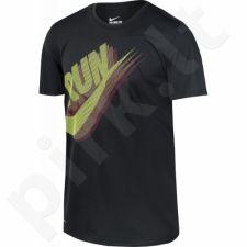Marškinėliai bėgimui  Nike Dry Running T-Shirt M 836068-010