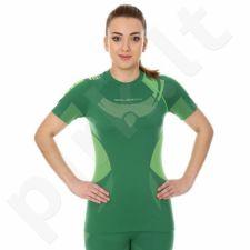 Marškinėliai termoaktyvūs Brubeck DRY W SS11960 žalio atspalvio