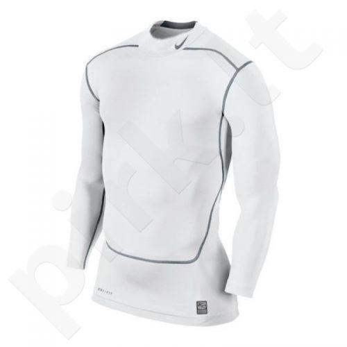 Marškinėliai termoaktyvūs Nike Core Compression LS MOCK 2.0 449795-100